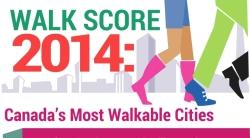 2014 Walkscore: Canada's Most Walkable Cities