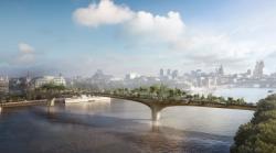 Garden Bridge in London, UK